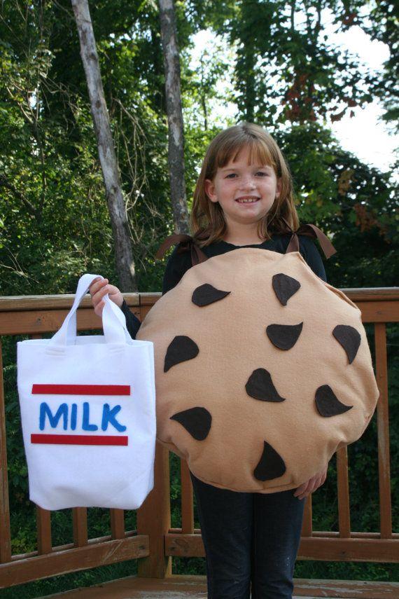 Halloween Costume Chocolate Chip Cookie W/ by memoriesmadebyrose