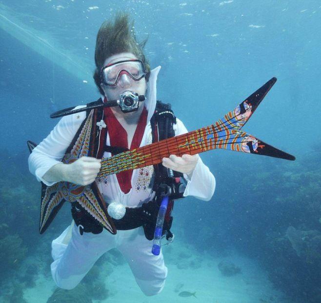 Dünyanın En Benzersiz Festivalleri - Florida Keys Sualtı Müzik Festivali - ABD
