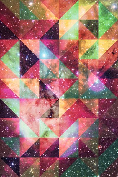 Pattern Galaxy. Art Print