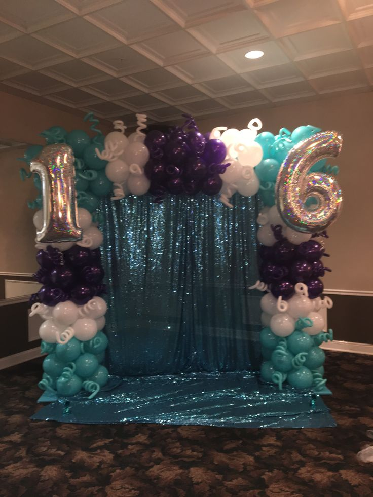 Best 25 sweet 16 centerpieces ideas on pinterest sweet for Balloon decoration ideas for sweet 16