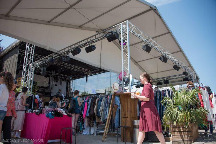 Violette Sauvage à la Plage du Glazart - JUILLET 2017