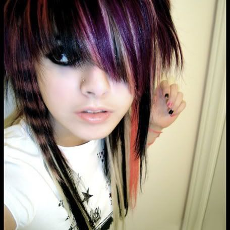 scene girls haircuts, styles, and colors pics | How to Be a Scene Girl
