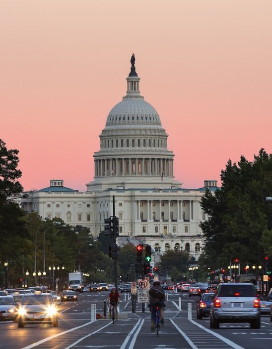 The U.S. Capitol Building is an icon that's open for weekday tours.