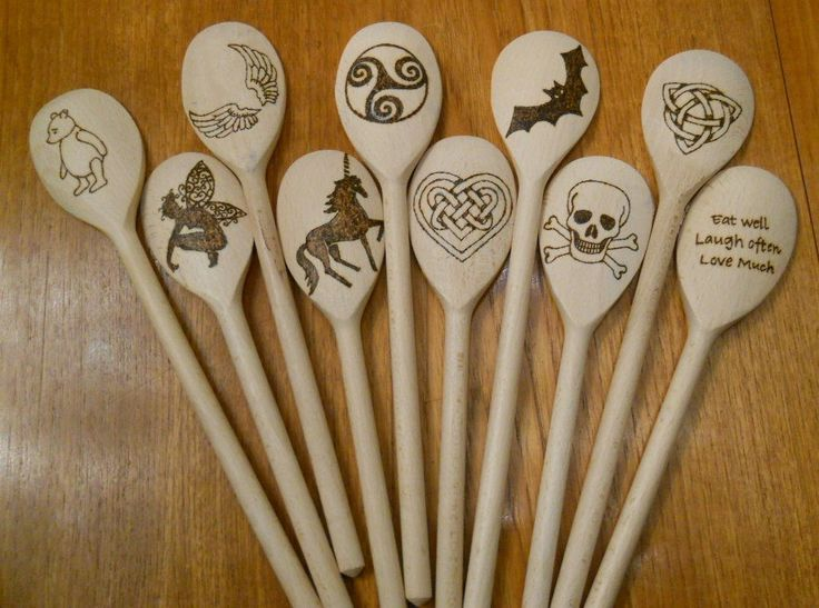 Wooden Spoons by UndertheOakTreeCraft on Etsy