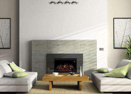 78+ Ideas About Contemporary Electric Fireplace On Pinterest