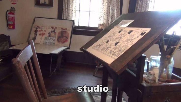 a visit to Nutcote - May Gibbs' house (2 mins), via YouTube.