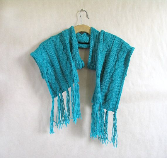 Scarf cable knit scarve chunky scarf wool by artwardrobe on Etsy, $29.00