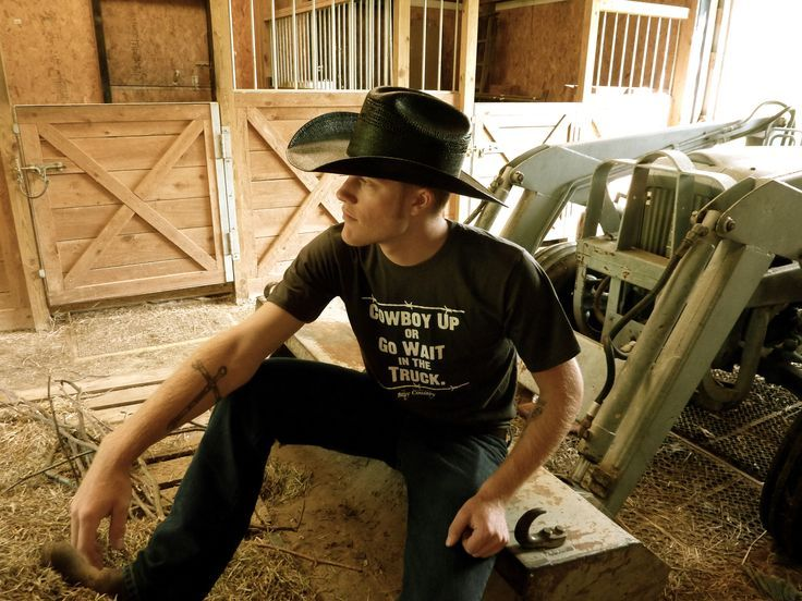 Guy On Tractor : Hot cowboys with tattoos guys cowboy
