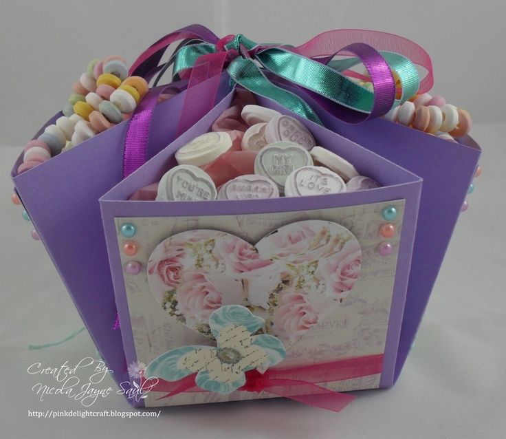 Bonbon  box made this using the Ultimate Pro from Crafter's Companion
