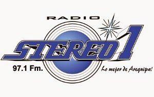 Radio Stereo Uno 97.1 FM Radio Stereo 1 Al tope. La primera radio juvenil de Arequipa con la mejor música, los mejores Dj 24 horas del dia, noticias y más. Telefonos de cabina : 252084 y 251184 - Celular para mensajes 959834186 - RPM #387172
