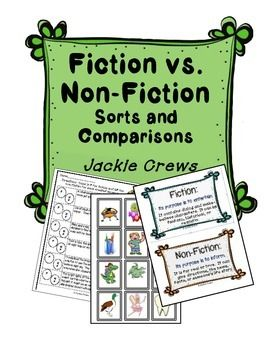 non fiction vs fiction which has greater But the standards demand for more non-fiction reading is being resisted by english teachers  fiction vs nonfiction smackdown by jay  university of virginia scholar ed hirsch jr has.