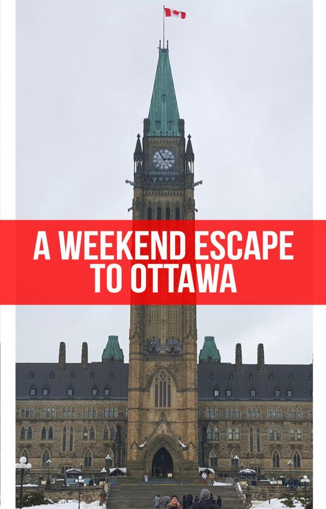 A Weekend Escape to Ottawa, Canada