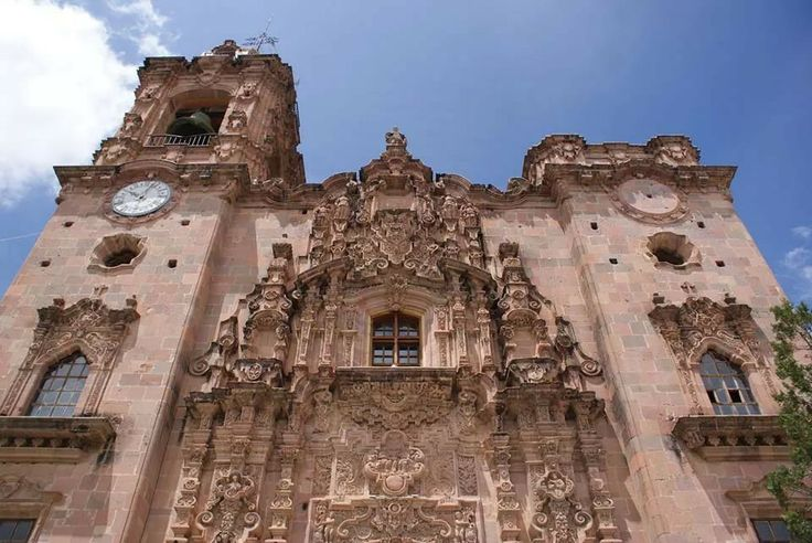 Templo de San Cayetano de Valenciana en Guanajuato.