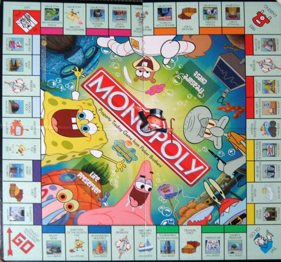 Spongebob Monopoly | eBay