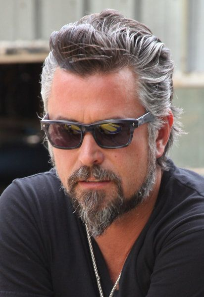fast and loud -  Richard - Love The Gray/black hair & beard