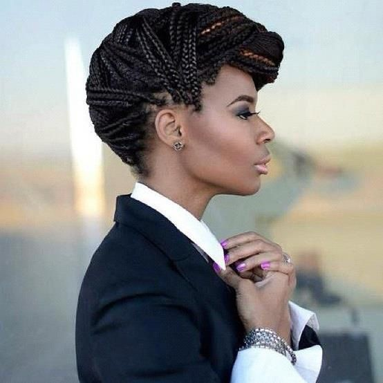 styled hair 25 best ideas about box braids updo on box 4140