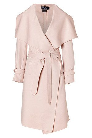 "Salvatore Ferragamo Cashmere and Wool-Blend Coat, as worn by Kerry Washington as Olivia Pope in season 2 of ""Scandal"""