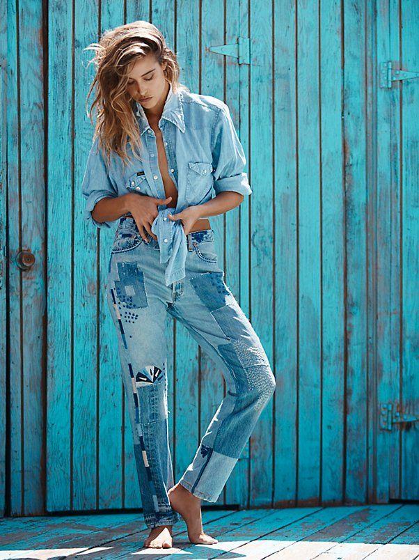 Heirloom - Conscience Heirloom Moondial Vintage Boyfriend Jeans at Free People Clothing Boutique