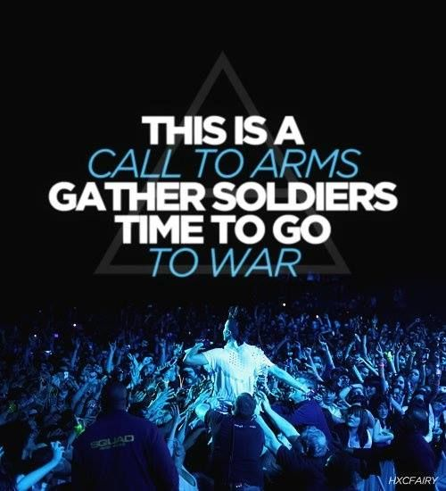 "#MARSlyrics | ""This is a call to arms ..."" #VoxPopuli"