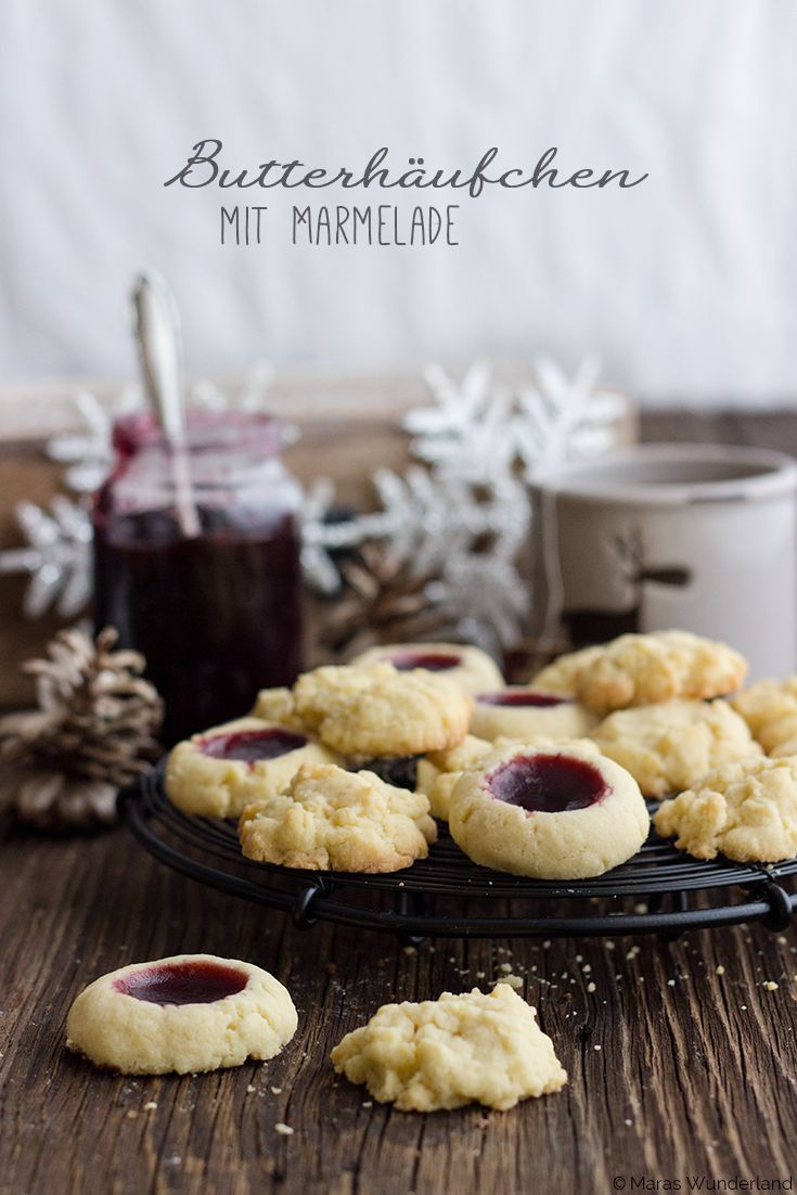 Butter Cookies (with Jam)