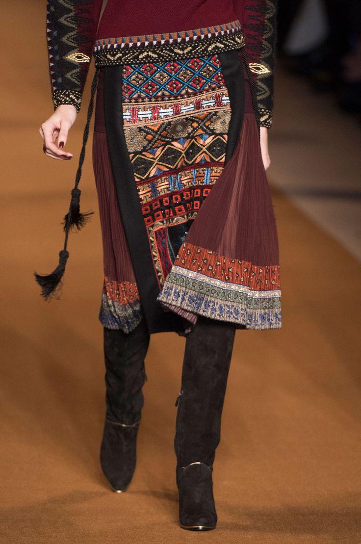 Etro at Milan Fashion Week Fall 2014 - StyleBistro