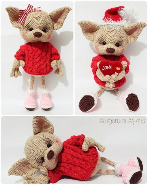 Amigurumi Tilki #amigurumifox #fox #crochettoys