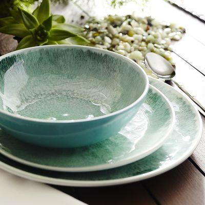 Waterways Melamine Dinnerware - Green