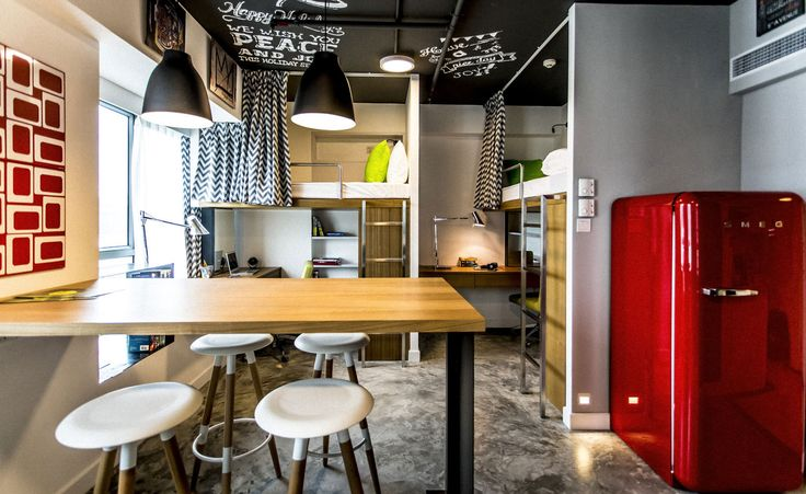 Completed in 2015 in Hong Kong, Hong KongCampus Hong Kong is a revolutionary apartment for students designed by LYCS Architecture, which aims to provide solution to renting problems in...