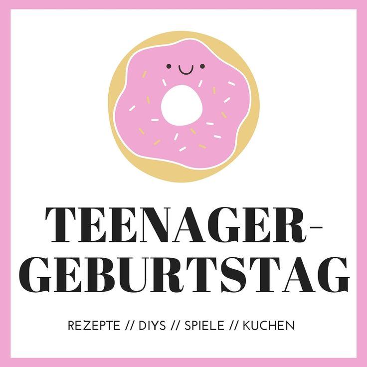 Teenager Geburtstag // Ideen, Kuchen, Spiele, DIYs https://www.minimenschlein.de/minimenschlein/category/teenager