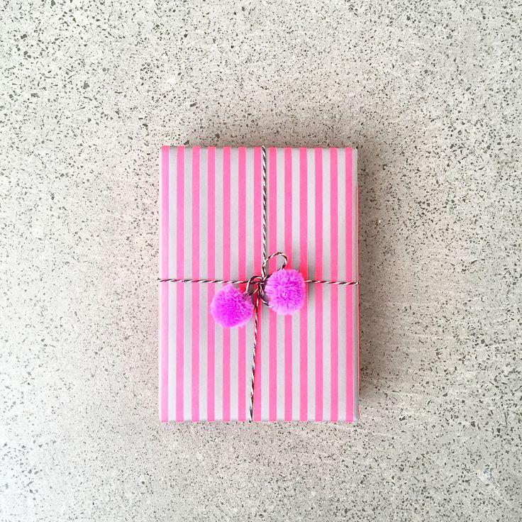 Secret Bunny | Stripes & pom poms | Easter Eggs