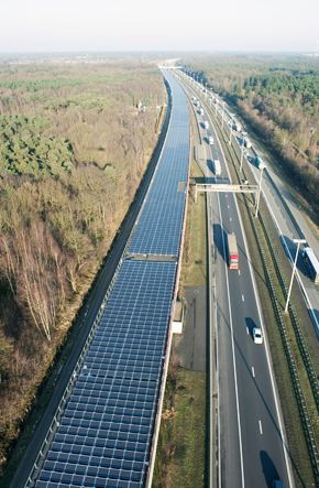 16,000 solar panels installed on the roof of the Paris-to-Amsterdam high-speed rail tunnel in Antwerp, Belgium have been officially entered into service - powering the Antwerp and Belgium train network.