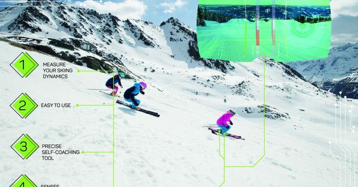 Want to ski better? Elan's Smart Ski Concept uses sensors to help you improve