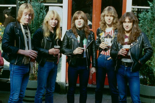 Iron Maiden are an English heavy metal band formed in Leyton, east London, in 1975 by bassist and primary songwriter Steve Harris. Description from imgarcade.com. I searched for this on bing.com/images