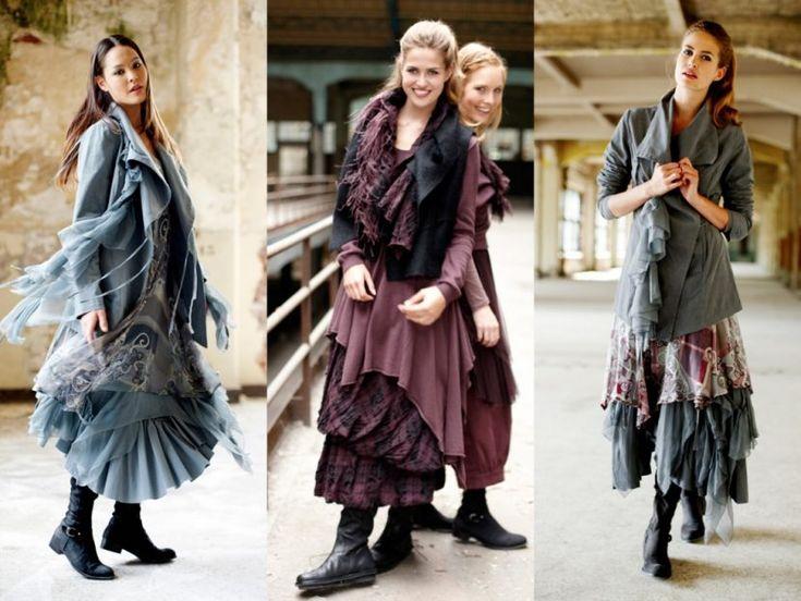 Многослойные юбки в бохо стиле
