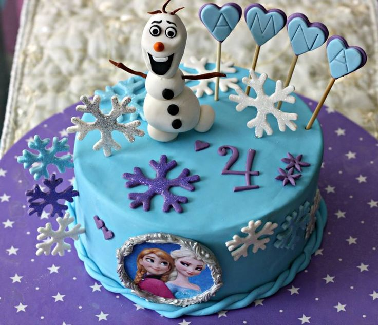 """""""Let it go, let it go"""" - my 19th cake on frozen, you can imagine the magnitude of this film - chocolate heaven!"""