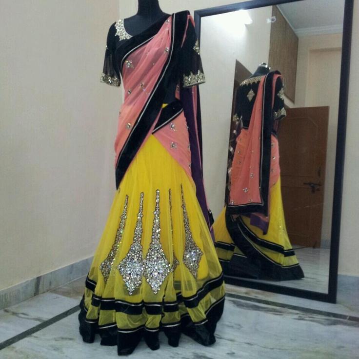Half saree..!!!