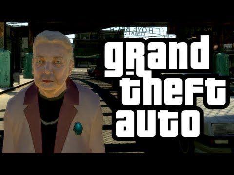 GTA 4 - Granny's Adventure! - (Granny w/ Wheelchair Mod Funny Moments) - YouTube