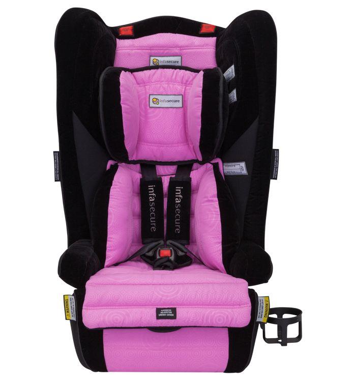 Win one of four new Infasecure pink swirl Comfi Caprice car seats – Prizeapalooza day nine