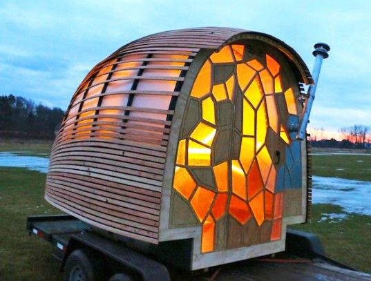 green mountain college, tiny house, solar power, rainwater catchment system, lucas brown, OTIS, Renewable Energy and Ecological Design, Opti...