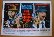 A FEW MORE DOLLARS - EASTWOOD - VAN CLEEF - SERGIO LEONE - 2008- STAINBOY - GREG REINEL