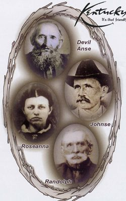 """Having seen History Channel's movie """"Hatfields & McCoys"""", I found these real-life photos interesting."""