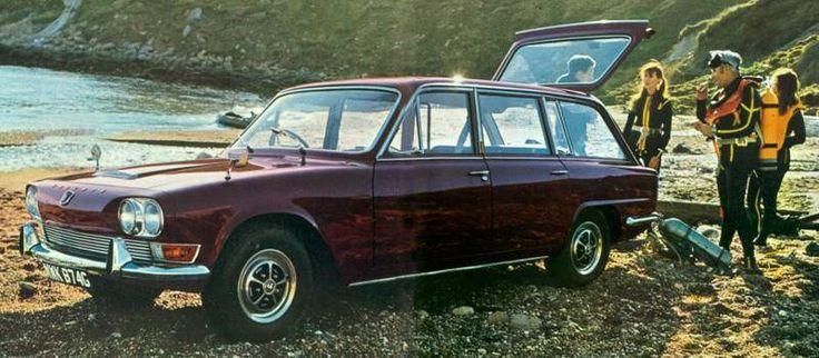 The Triumph 2000 Estate the car my dad drove when i was a