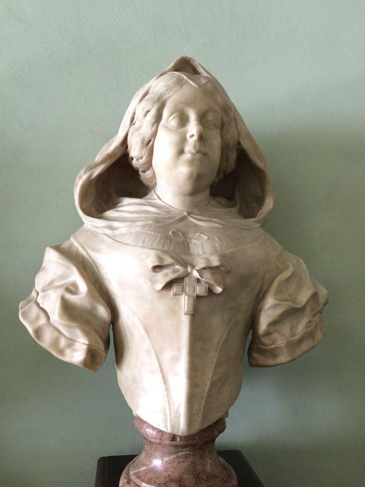 Portrait bust of Maria Magdalena Austriaca Galleria degli Uffizi