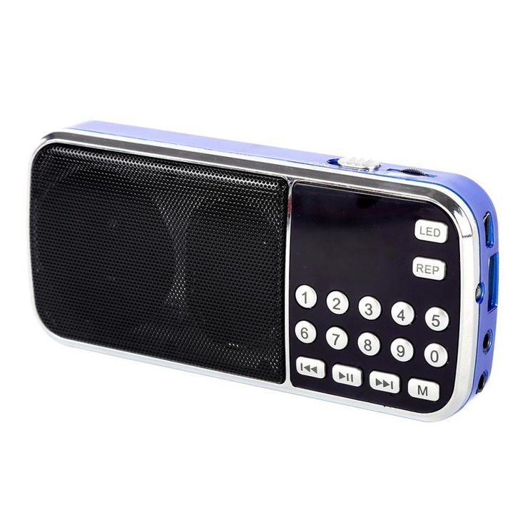 2016 New Arrival Portable Digital Stereo FM Mini Radio Speaker Music Player with TF Card USB AUX Input Sound Box Blue Black Red♦️ SMS - F A S H I O N 💢👉🏿 http://www.sms.hr/products/2016-new-arrival-portable-digital-stereo-fm-mini-radio-speaker-music-player-with-tf-card-usb-aux-input-sound-box-blue-black-red/ US $10.37