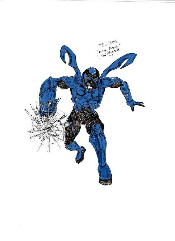 Teen Titans' Blue Beetle