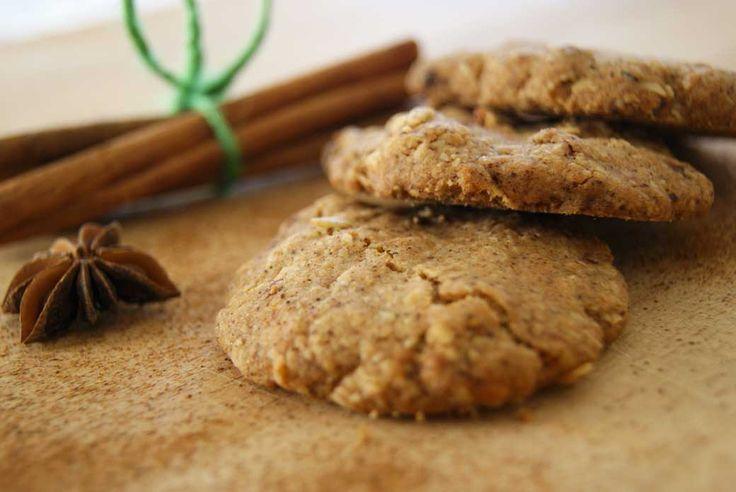 Gluténmentes fahéjas keksz