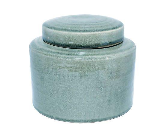 Deckel-Vase Shane, H 17 cm