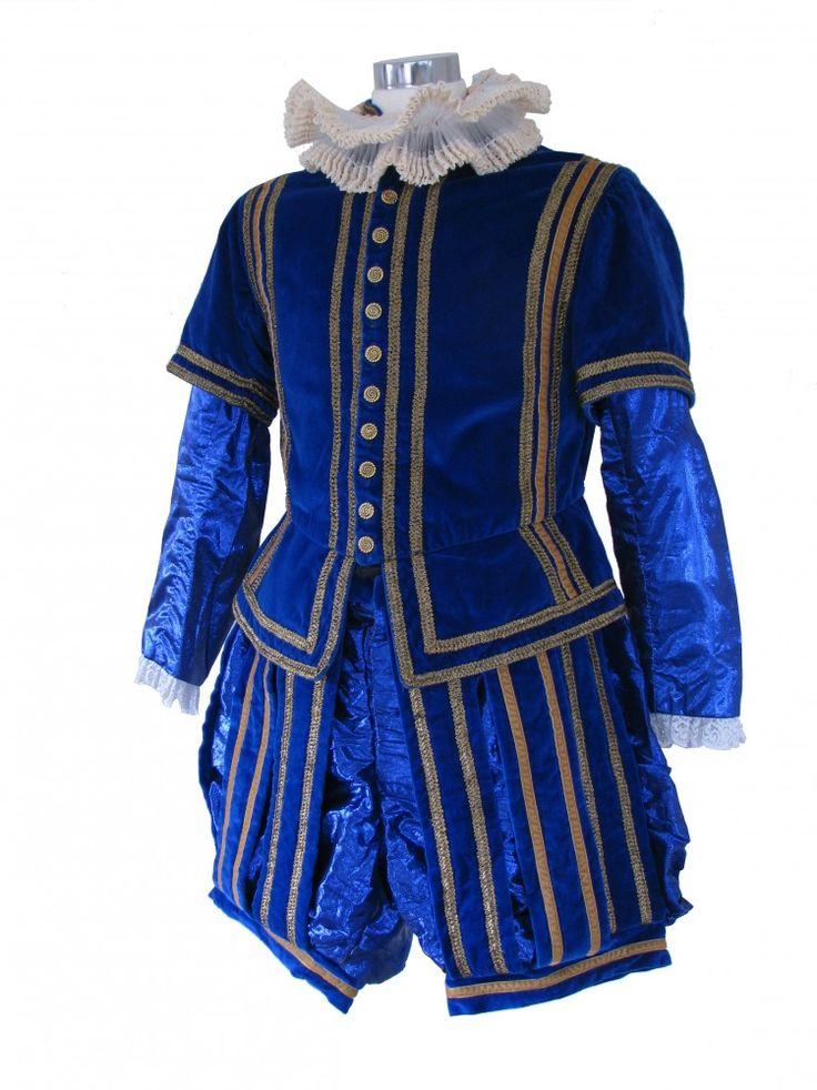 Men's Tudor Elizabethan Costume Image