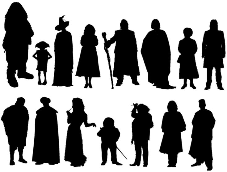 Silhouettes: Harry Potter Characters Quiz - By Perspektive