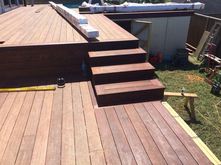 Pin di Shadow Deck su ShadowDeck-Dome Decking Bullnose Step - gartenbepflanzung am hang